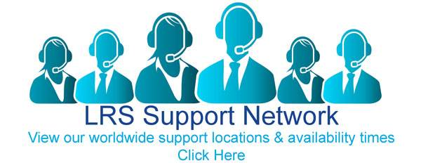 View our worldwide support locations and availability times