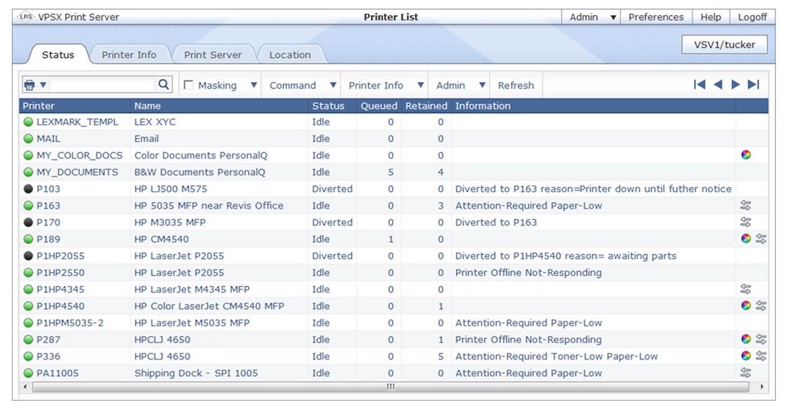 LRS Document Control with LRS Output Management