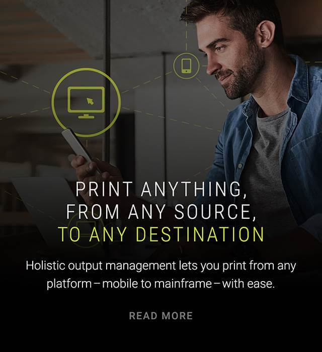 Print anything from any source