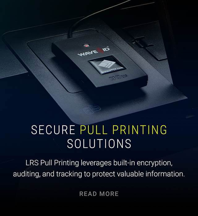 Secure pull printing solution